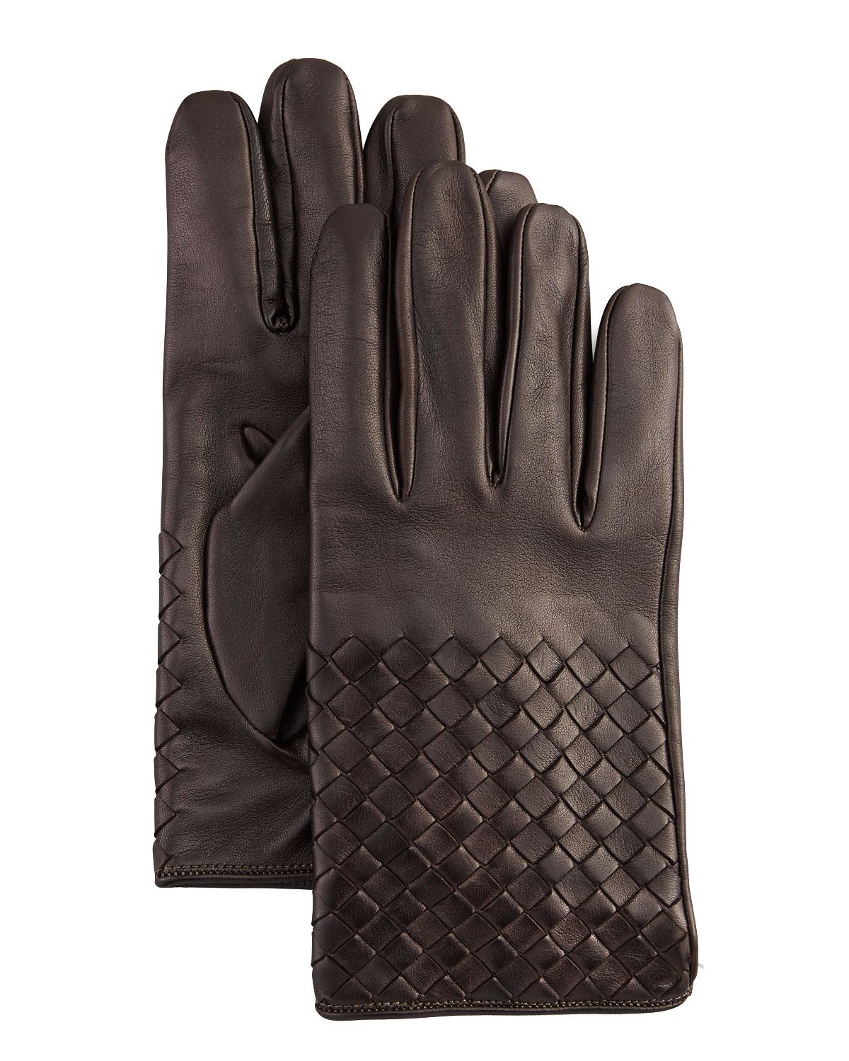 Mens leather gloves xl - Gallery