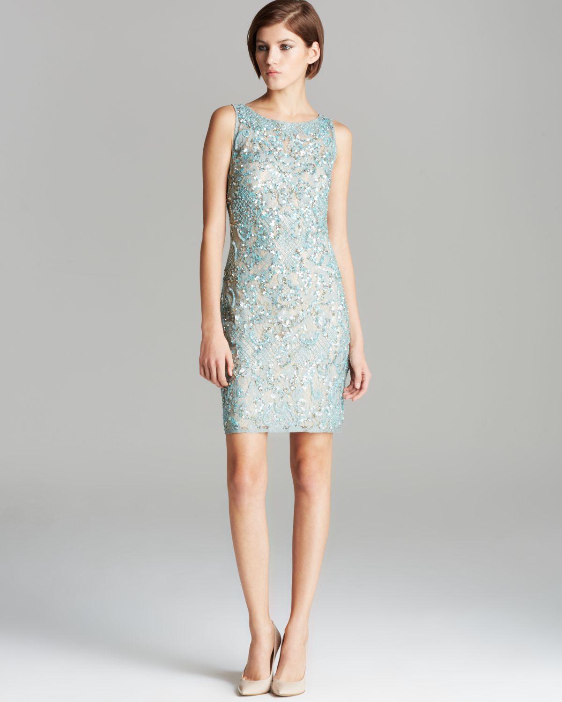 Aidan Mattox Lace Dress