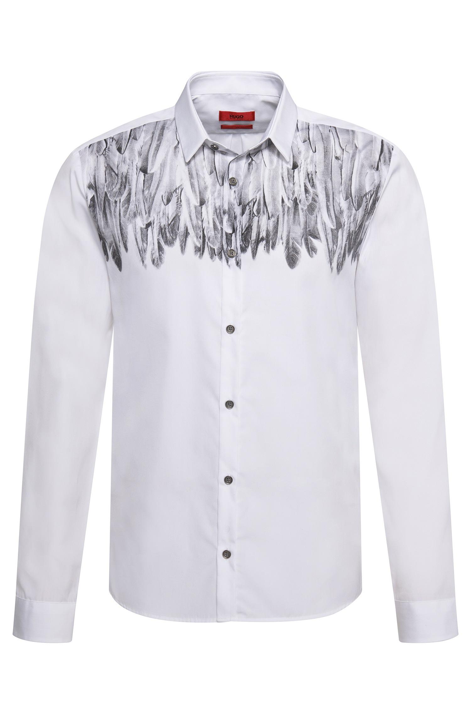 Lyst - Hugo 'ero' | Slim Fit, Cotton Button Down Shirt in White ...