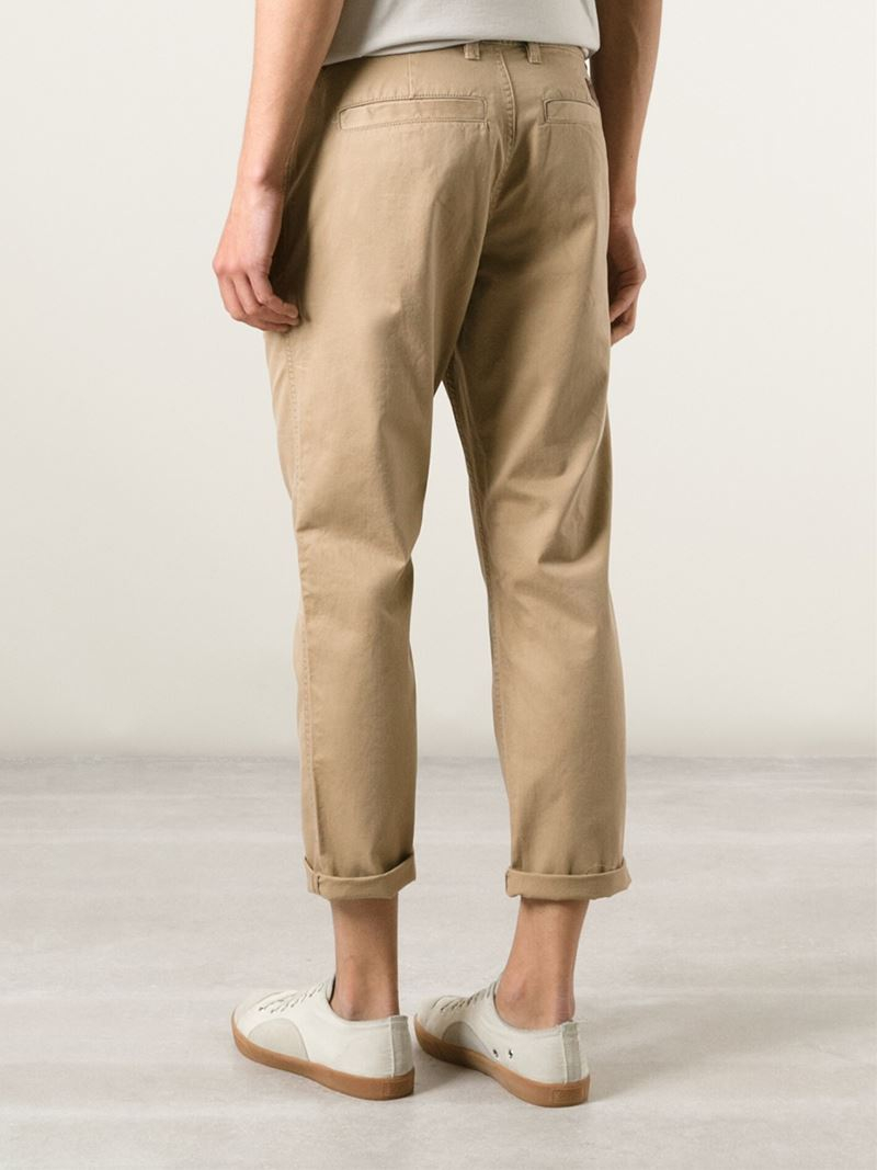 how to wear cropped chinos