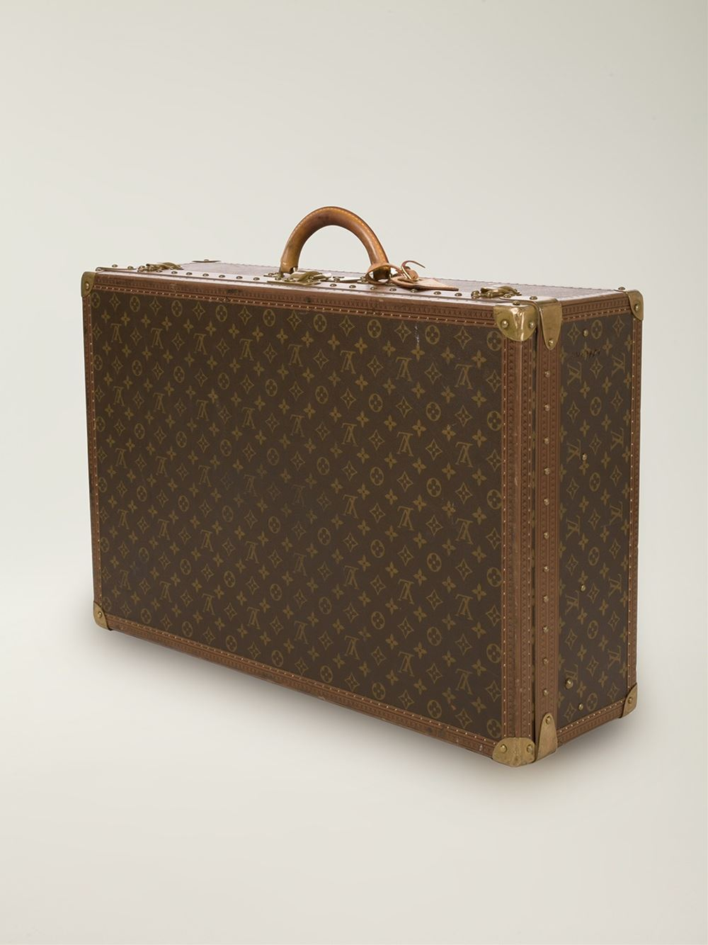 louis vuitton monogram 39 alzer 70 39 suitcase in brown lyst. Black Bedroom Furniture Sets. Home Design Ideas