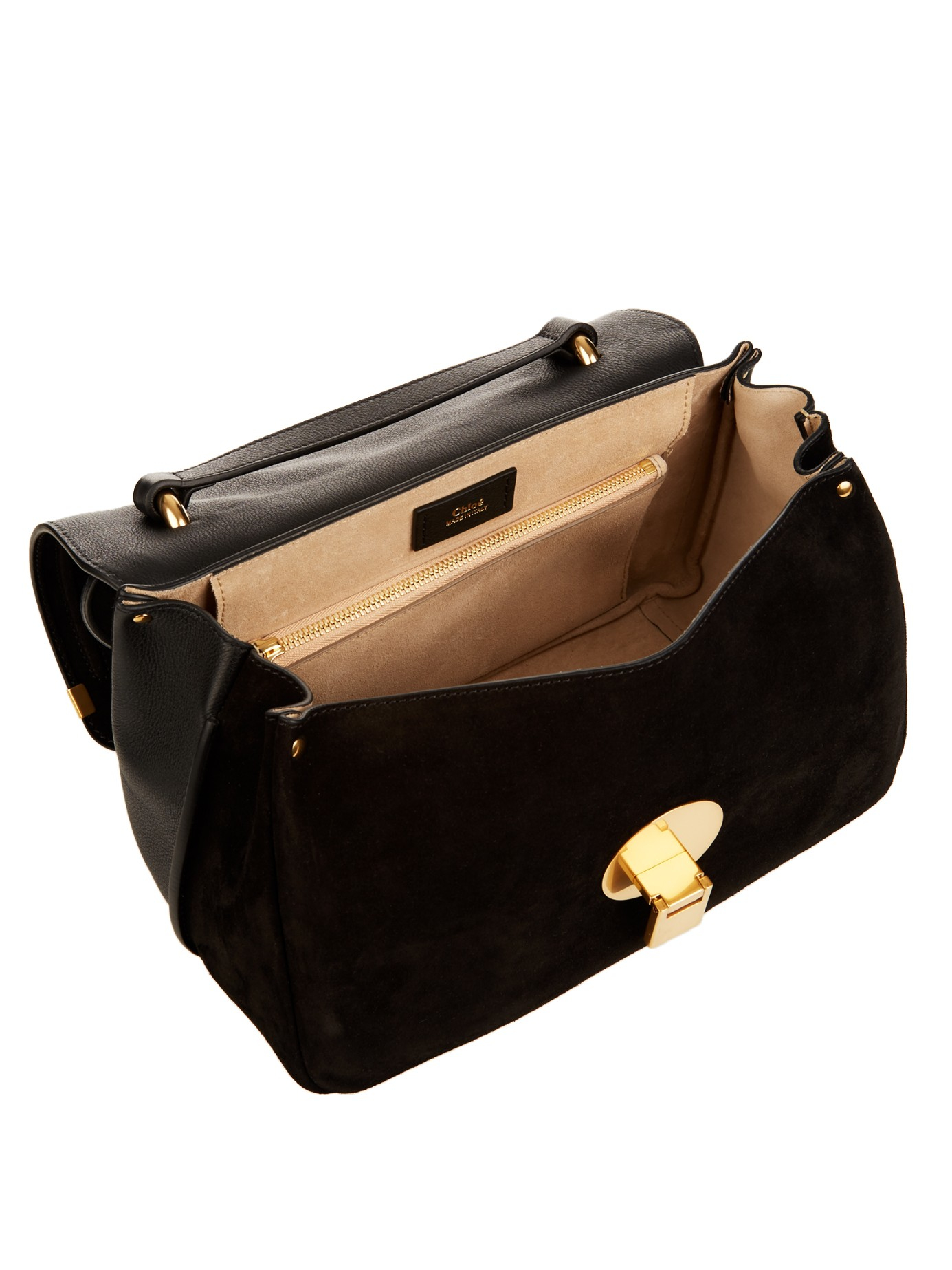 Lyst Chlo 233 Chlo 233 Indy Tote In Black
