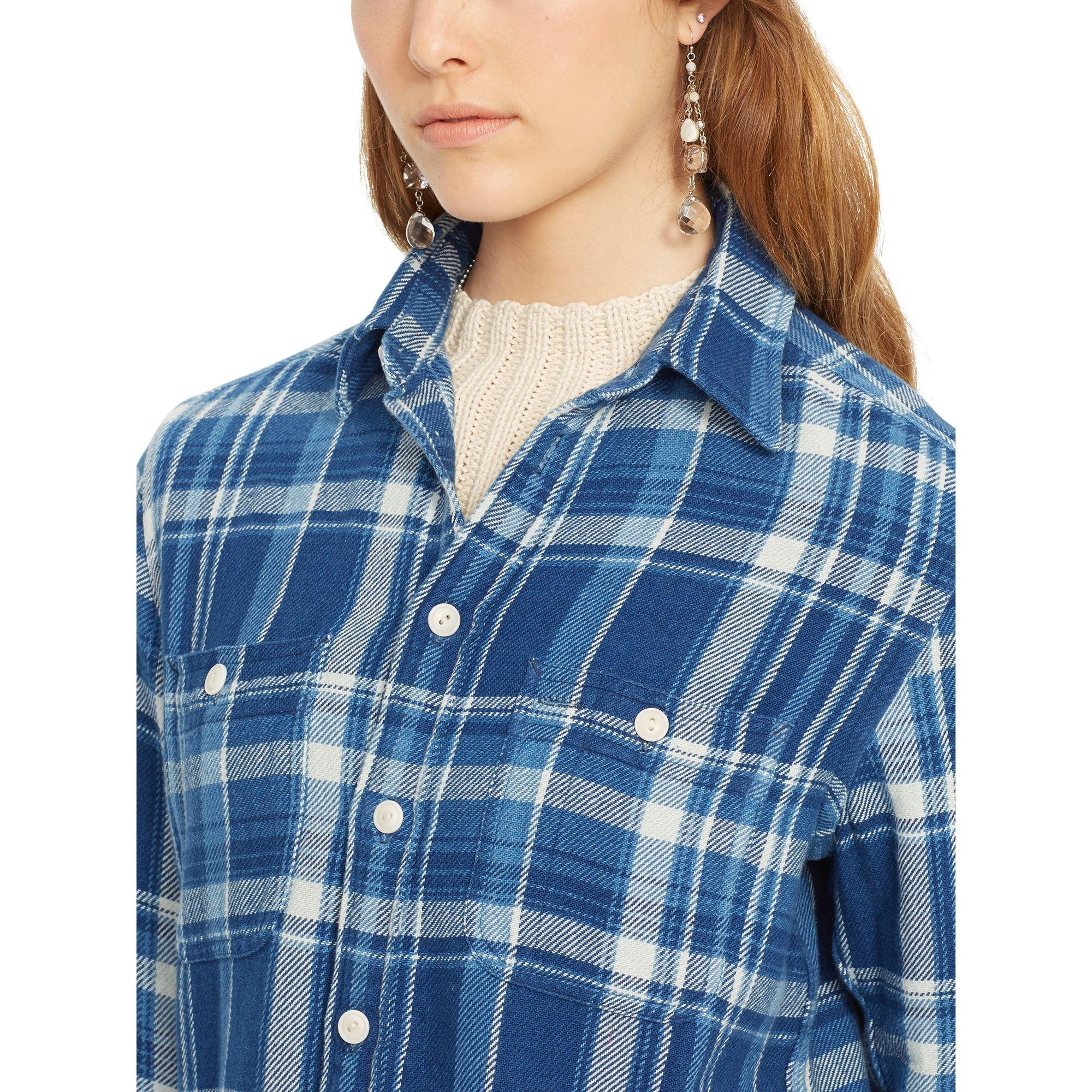 Plaid Flannel Shirts Womens