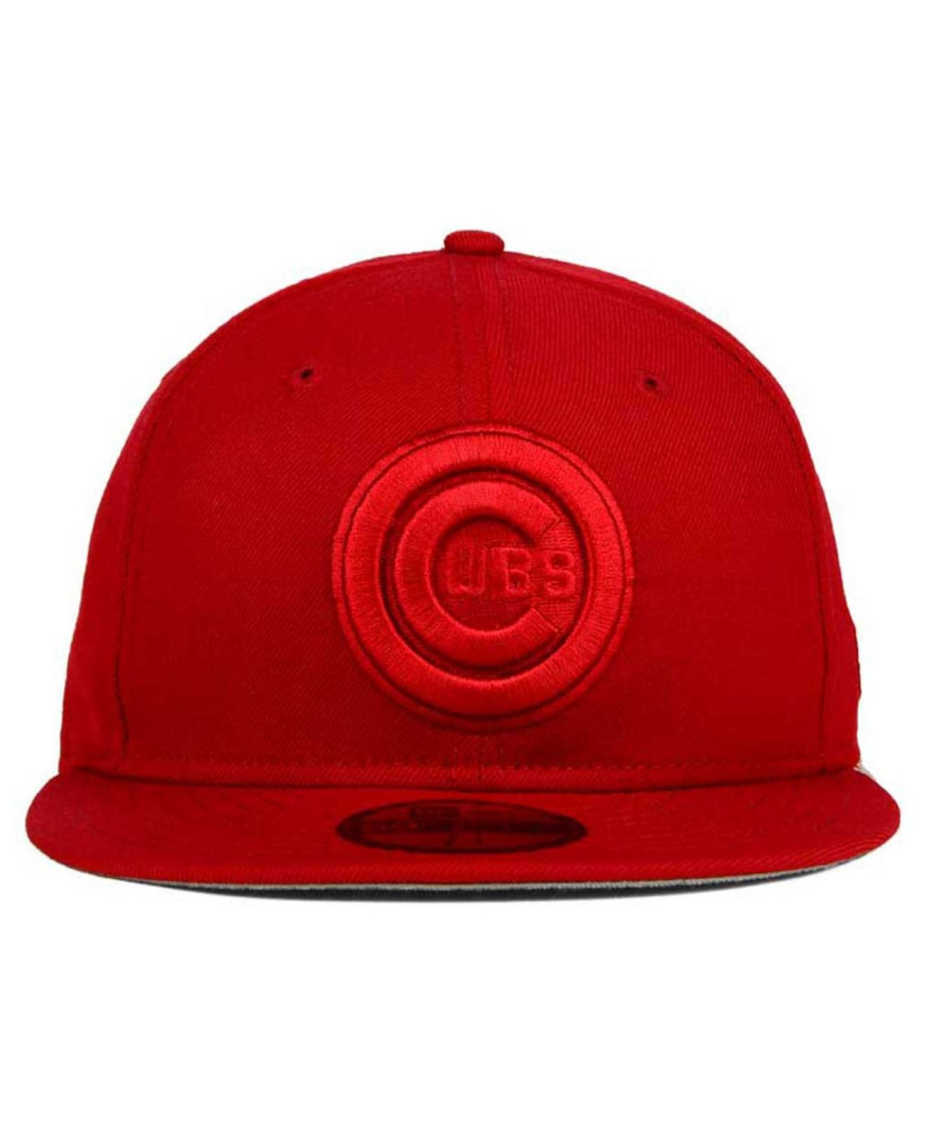 cadd57bff5a Lyst - Ktz Chicago Cubs Ton-wool 59fifty Cap in Red for Men