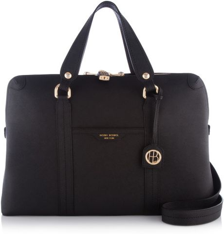 Henri Bendel West 57th Briefcase In Black Lyst