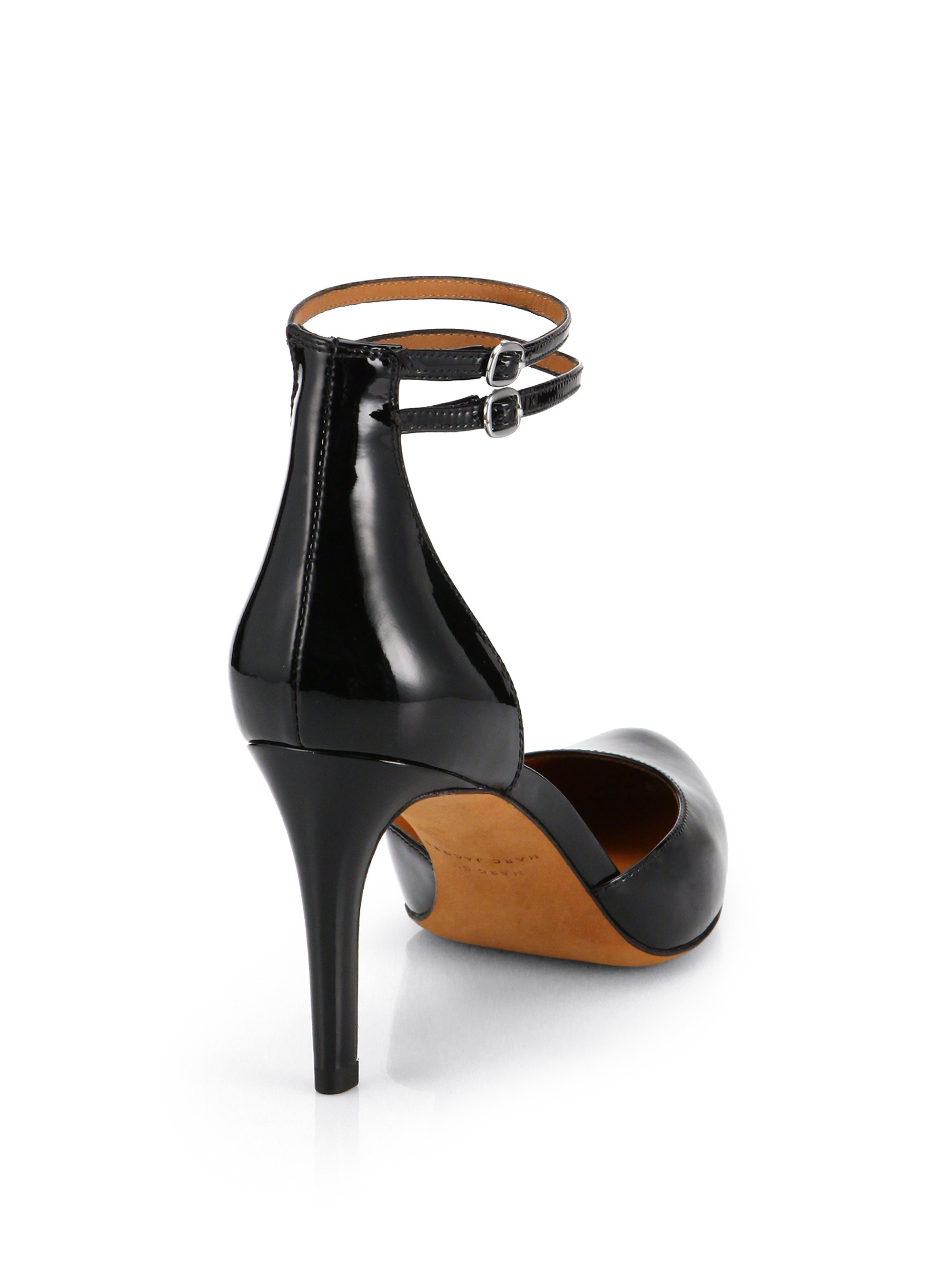 cheap new styles Marc by Marc Jacobs Leather Ankle Strap Sandals discount best prices cheap sale fast delivery sale low price jmkWxtuZl