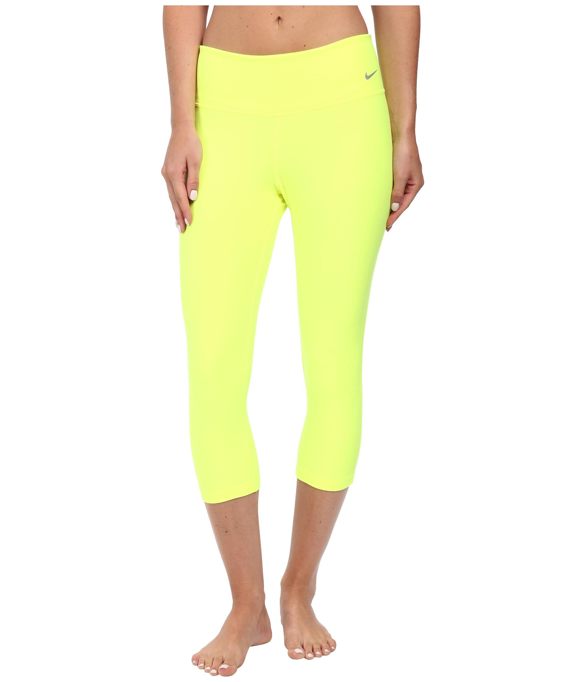 nike yellow leggings