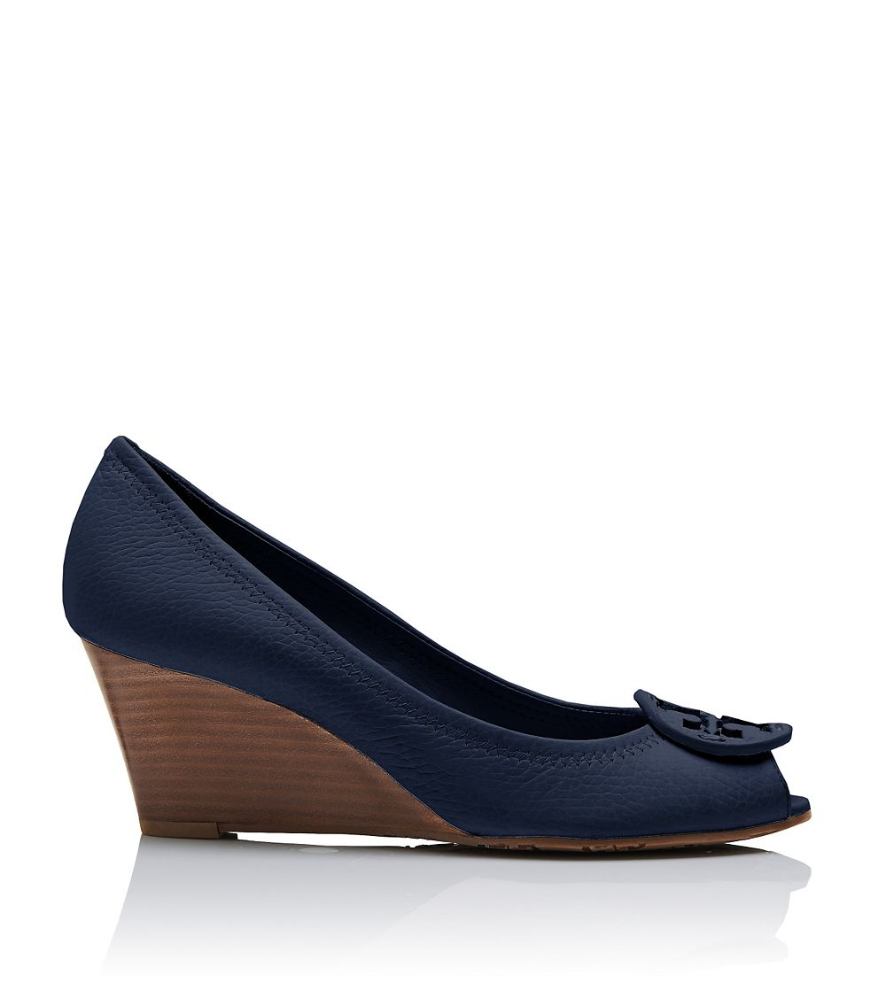 Navy Women S Embelished Shoes