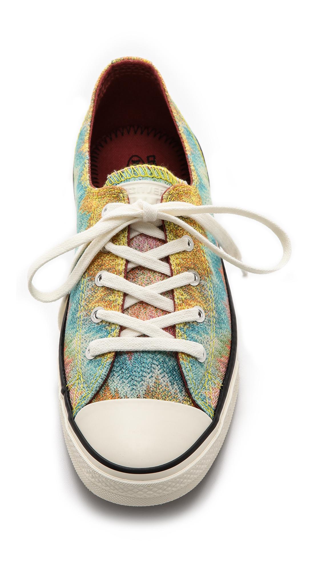 Missoni Sneakers Converse Taylor Star All Citrusmulti Chuck Lyst w7UqfvxOn