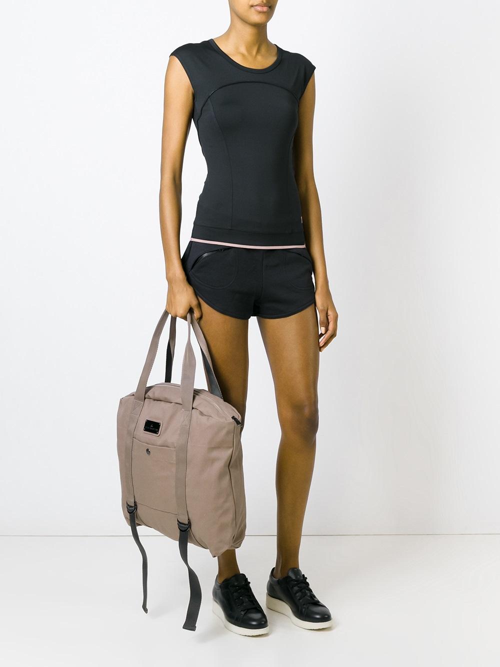 f4d10ec2ce9b Lyst - adidas By Stella McCartney Grey Yoga Bag in Natural