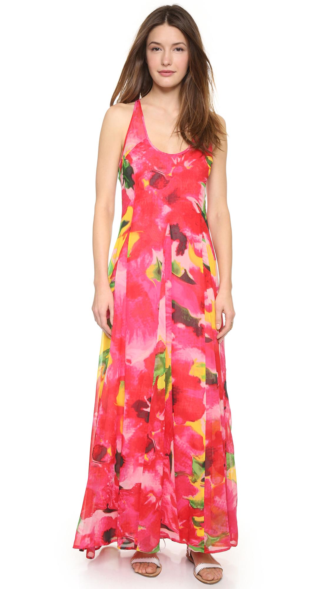 Bb dakota Deklyn Abstract Floral Maxi Dress - Multi | Lyst