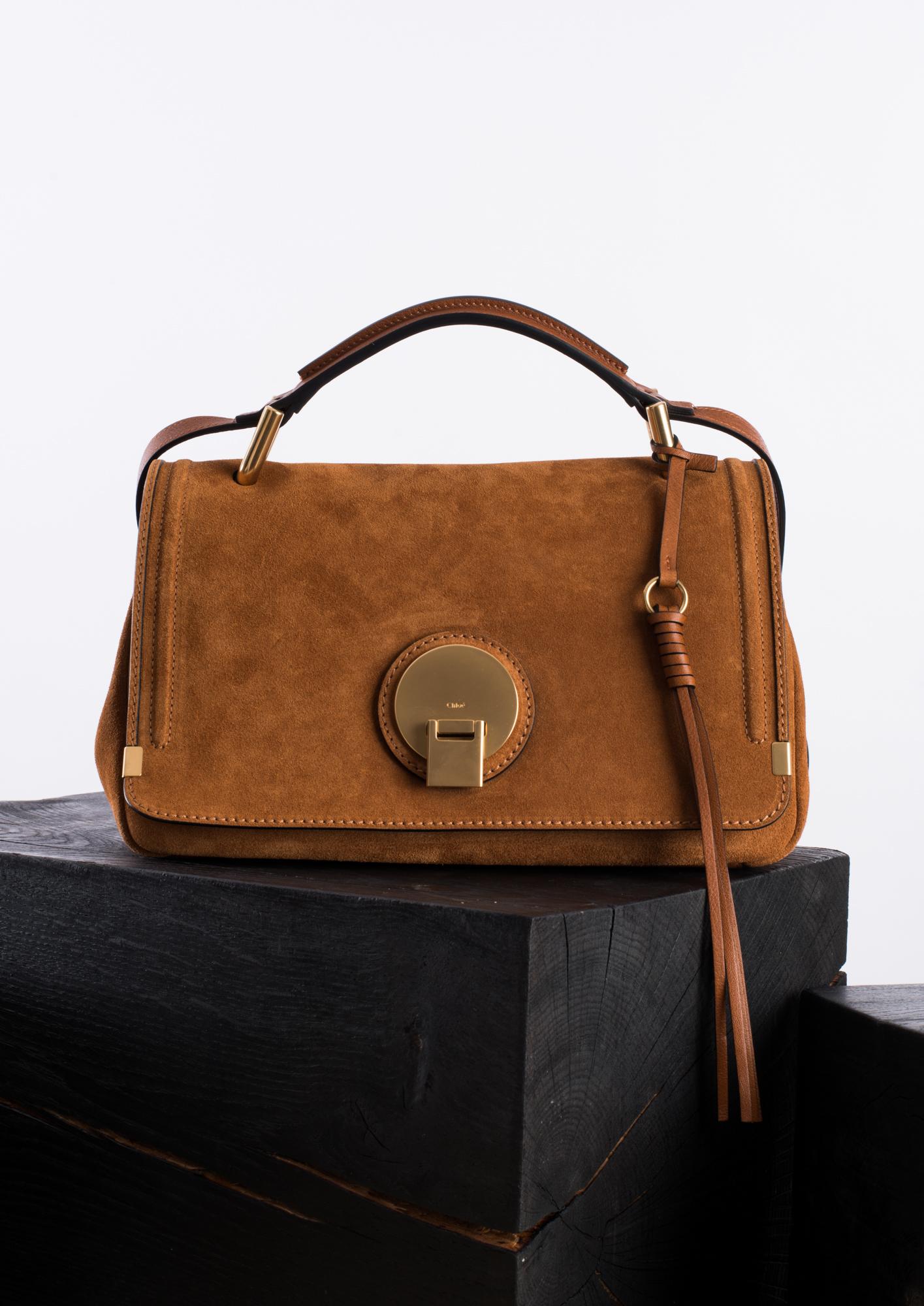 Chloé Indy Medium Shoulder Bag in Brown