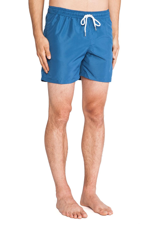 25f98e998b J.Lindeberg Banks 2.0 Solid Swim Shorts in Blue for Men - Lyst