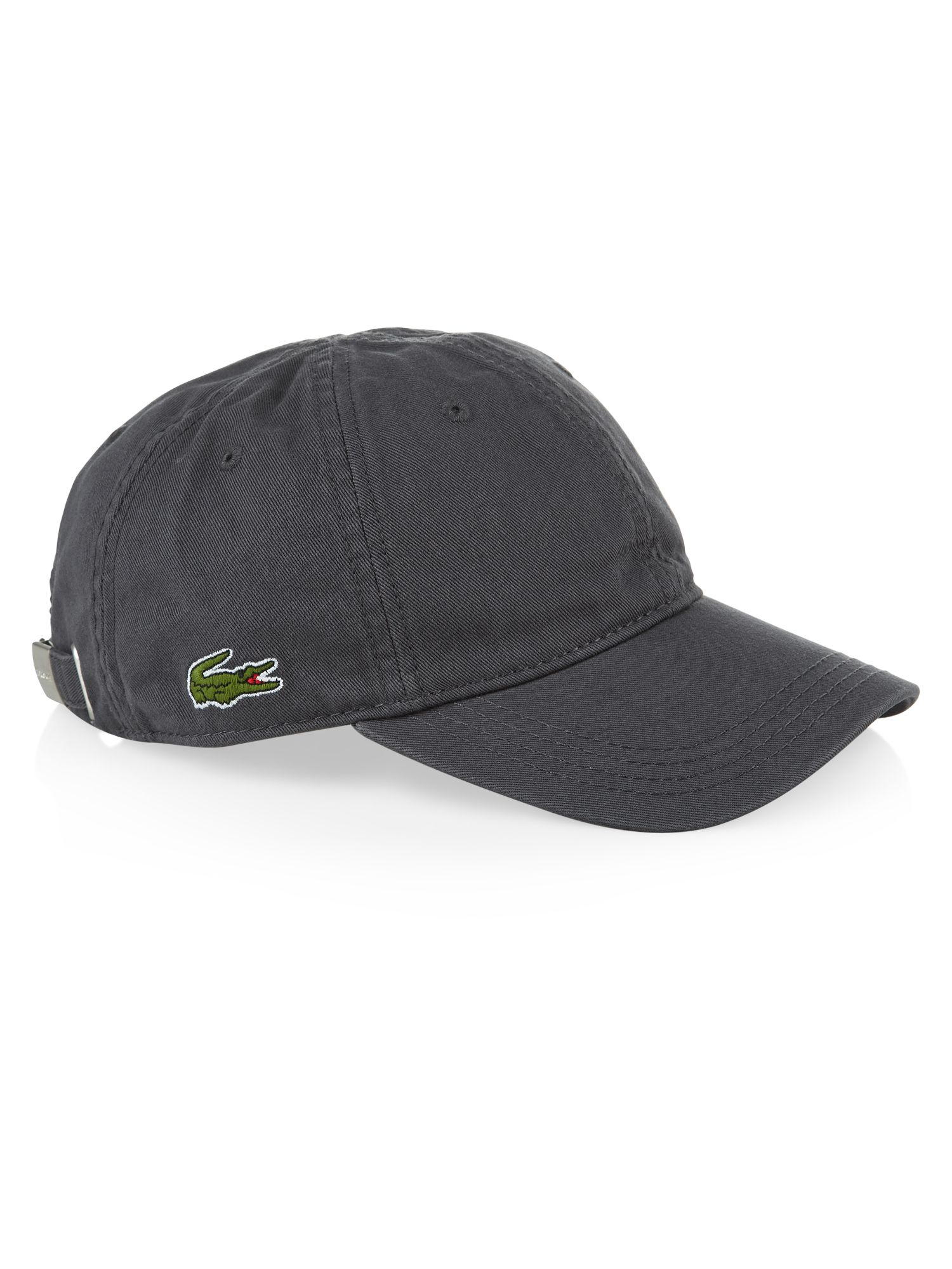 c14064e39f7 ... Lacoste Plain Cap in Gray for Men - Lyst new photos 73ad2 6a650  Lacoste  Mens Baseball ...