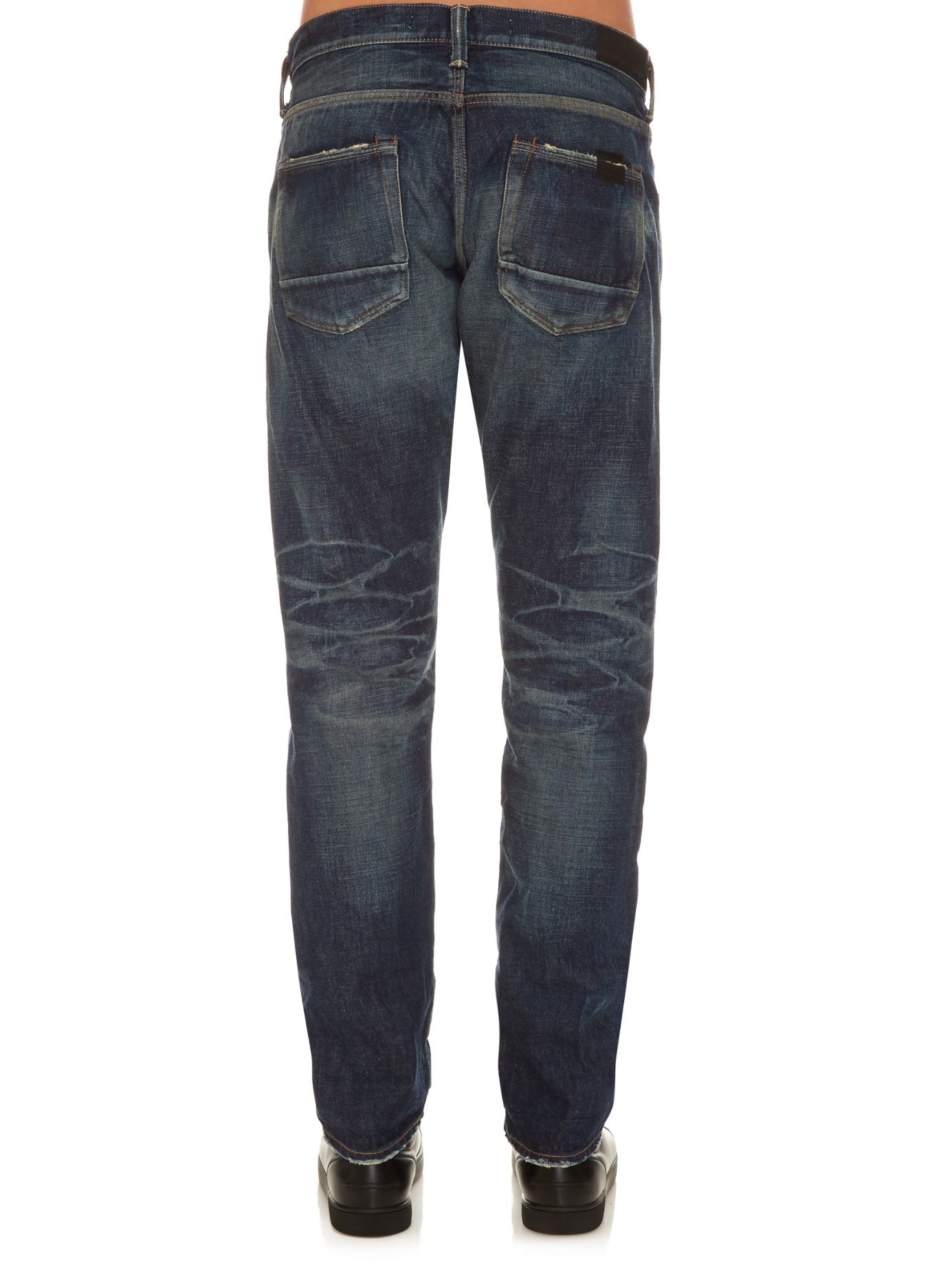 36d1348c Mastercraft Union Relaxed Taper Vintage-wash Jeans in Blue for Men ...