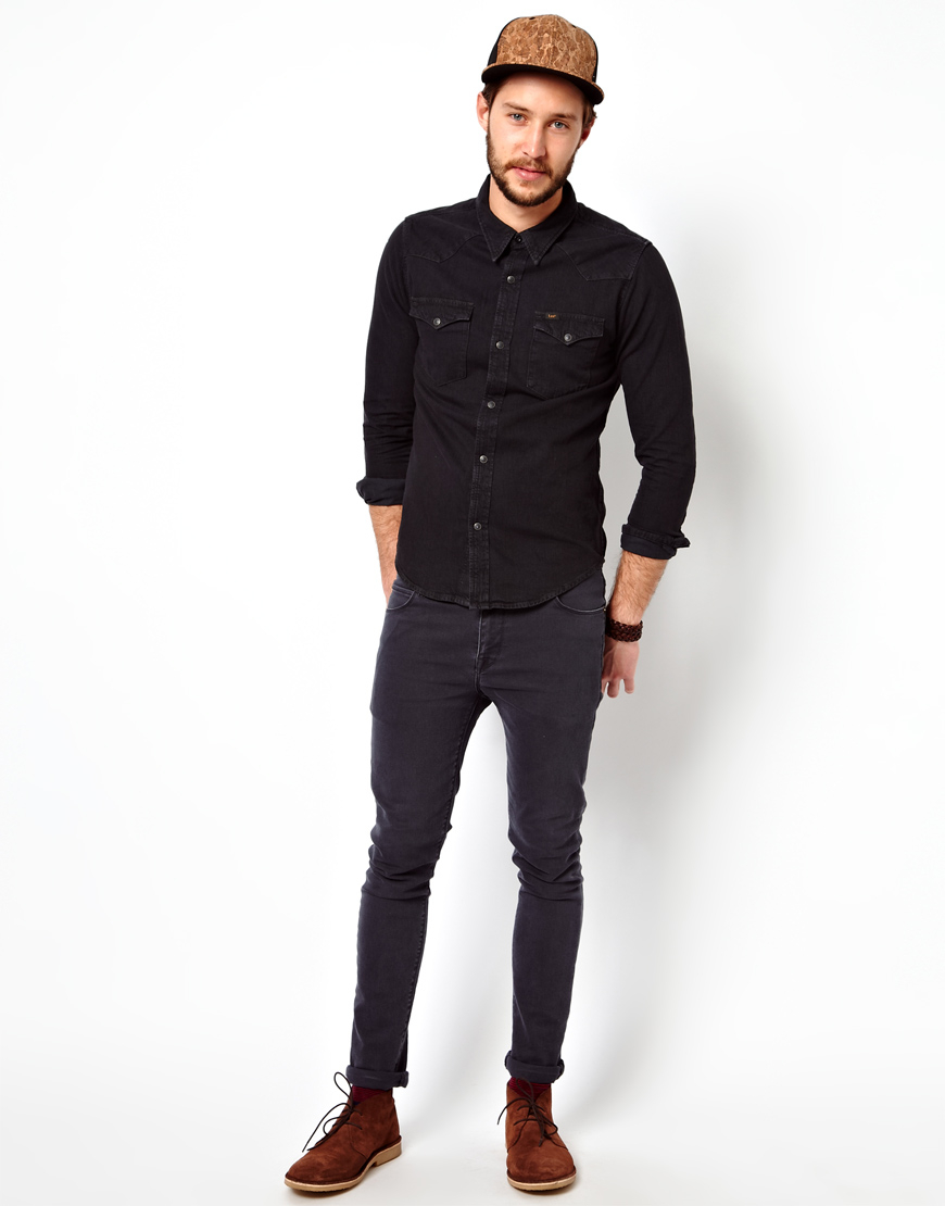 lee black jeans for men - photo #24