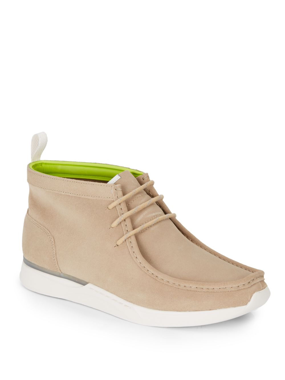 clarks tawyer suede ankle boots in for lyst