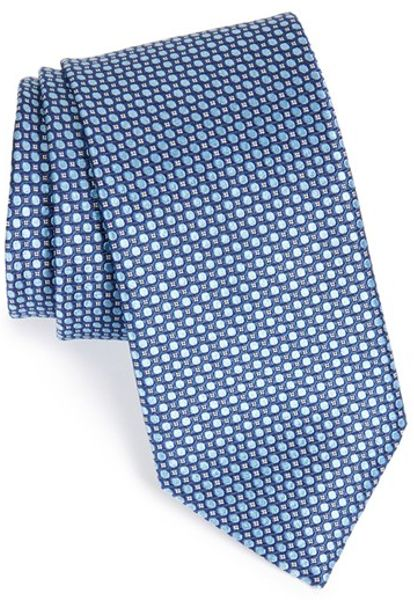 w nordstrom 174 smalling dot silk tie in blue for