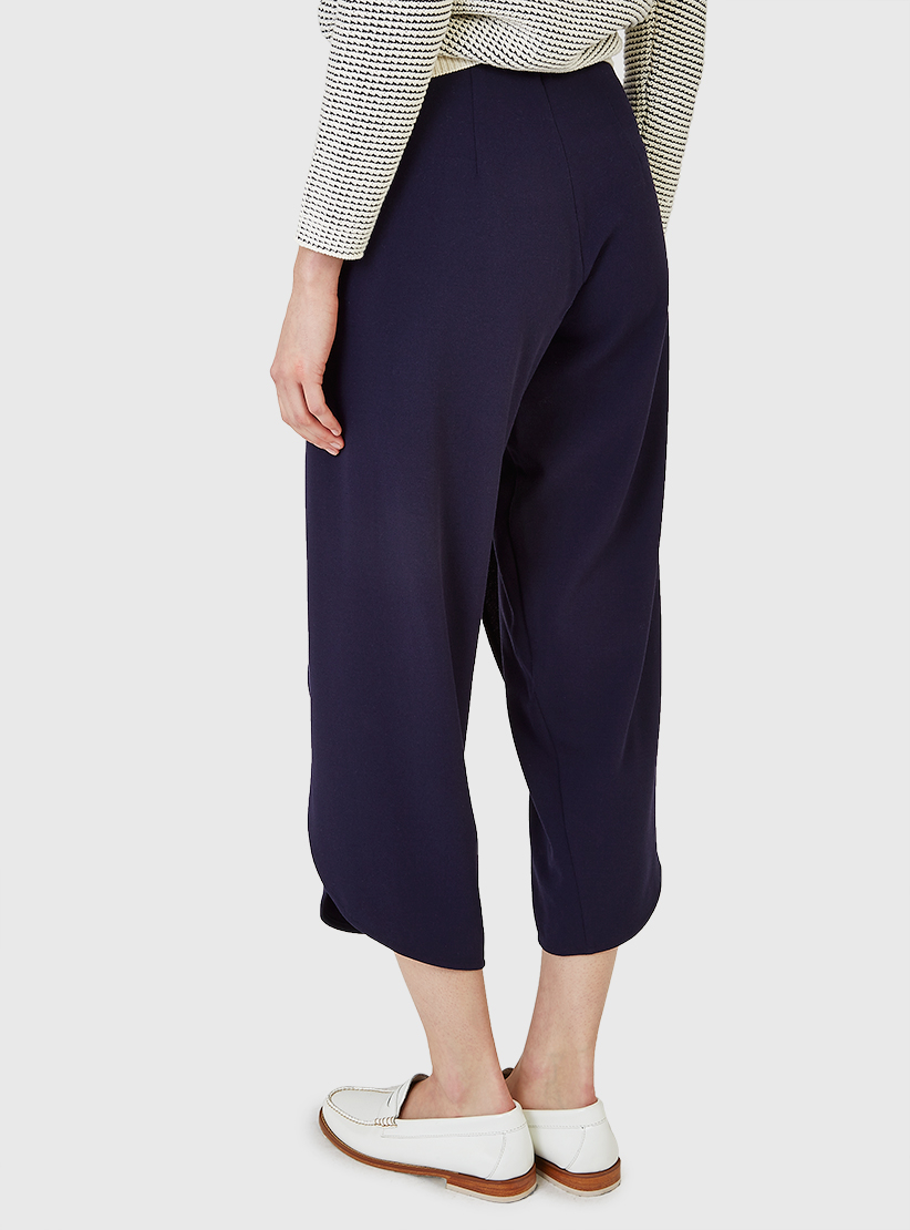 9afbea1bd0d36 Lyst - Rodebjer Nala Crepe Trousers Midnight Blue in Blue