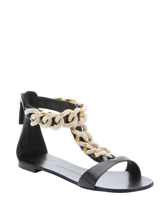Giuseppe Zanotti Sandals Roll 10 with ankle strap leather RwmUsME