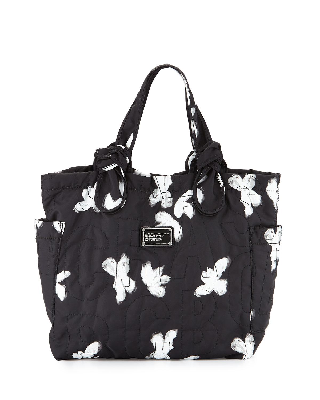 10164fa77a42 Lyst - Marc By Marc Jacobs Pretty Nylon Tate Medium Tote Bag in Black