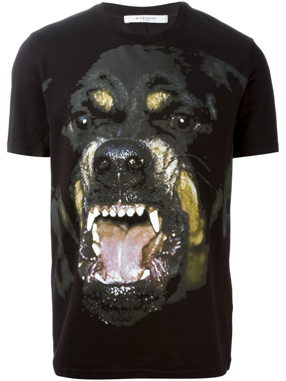 lyst givenchy rottweiler cotton t shirt in black for men