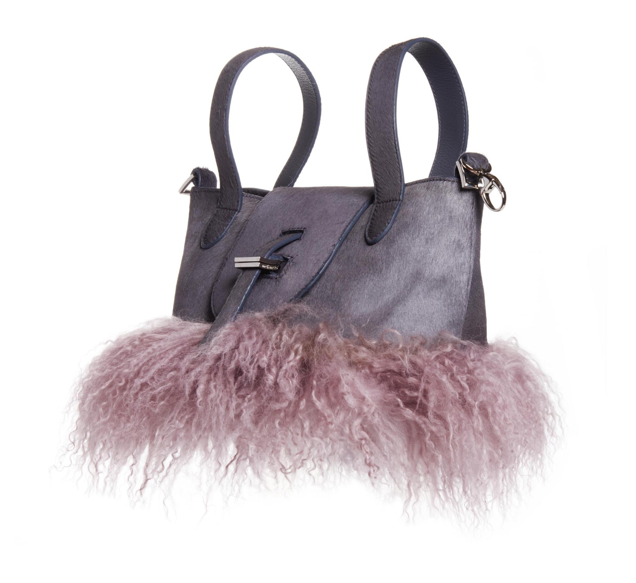 lyst meli melo women 39 s micro box cross body bag in gray. Black Bedroom Furniture Sets. Home Design Ideas