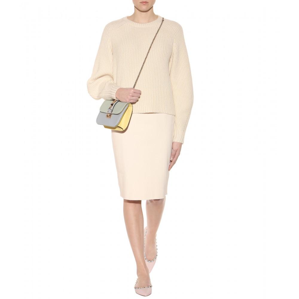 NEW Valentino Small Glam Lock Shoulder Bag | Lollipuff
