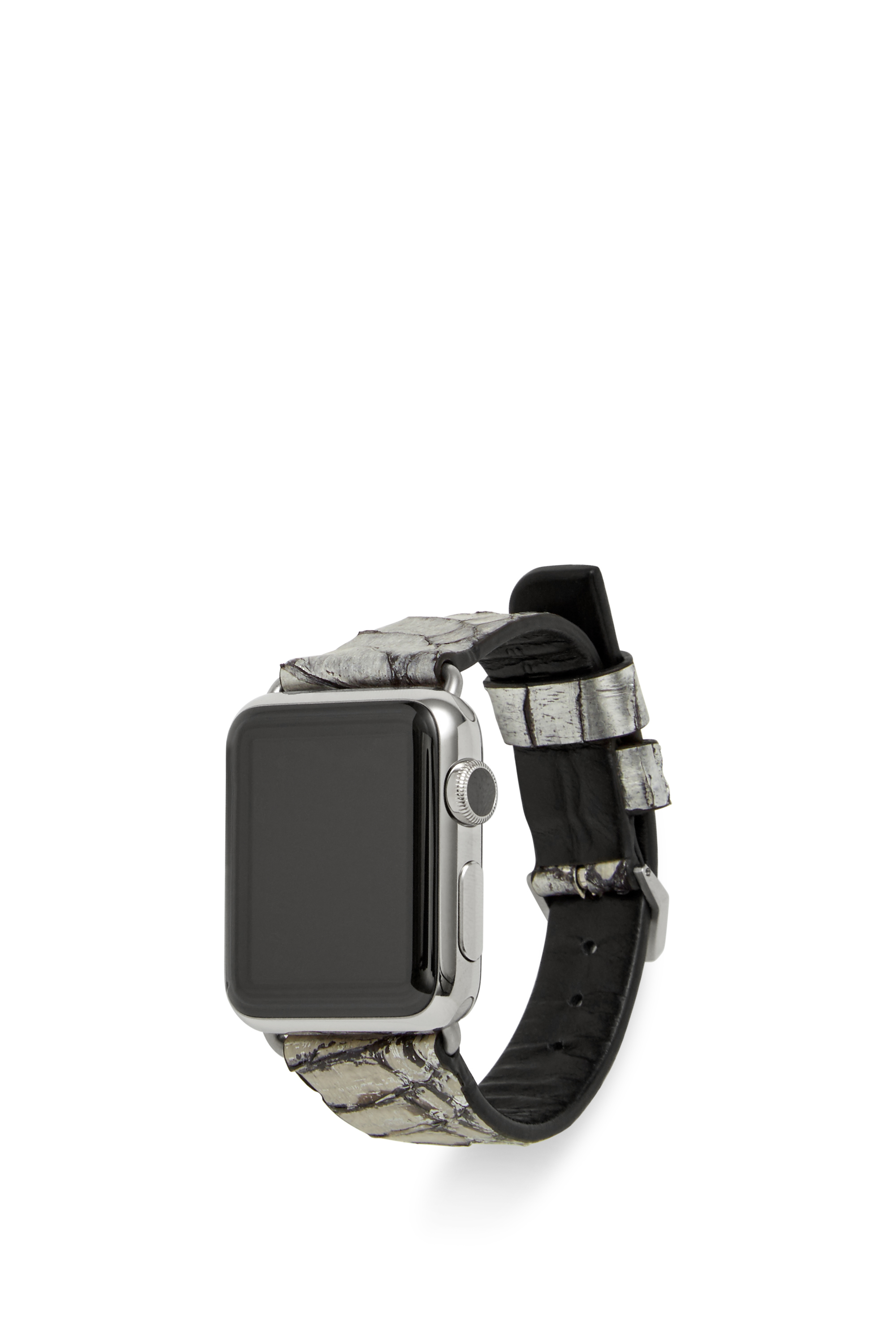 Rebecca minkoff Snake Embossed Leather Apple Watch Band in