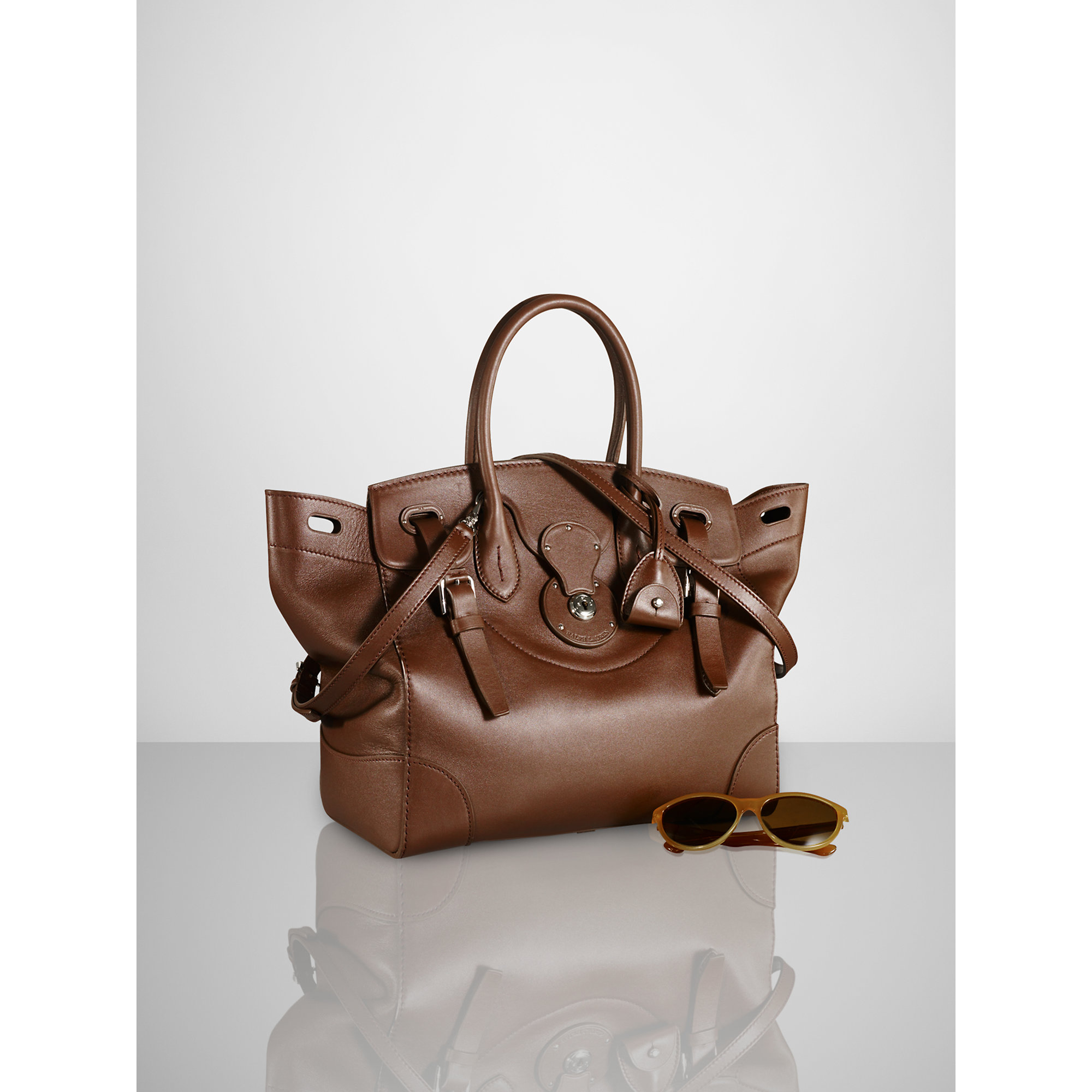 9e1089a81c55 Lyst - Pink Pony Soft Ricky Bag in Brown