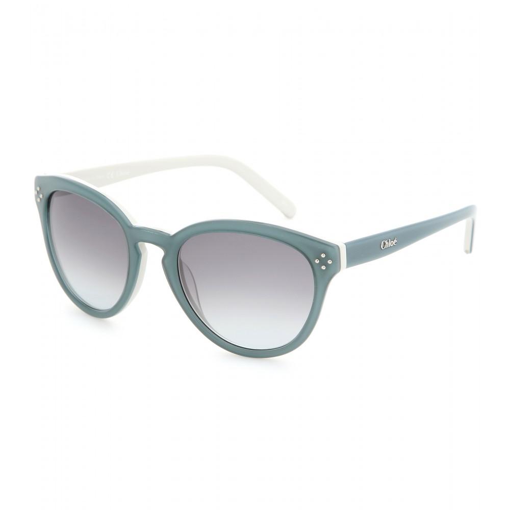 65a07376d45 Lyst - Chloé Boxwood Sunglasses in Blue