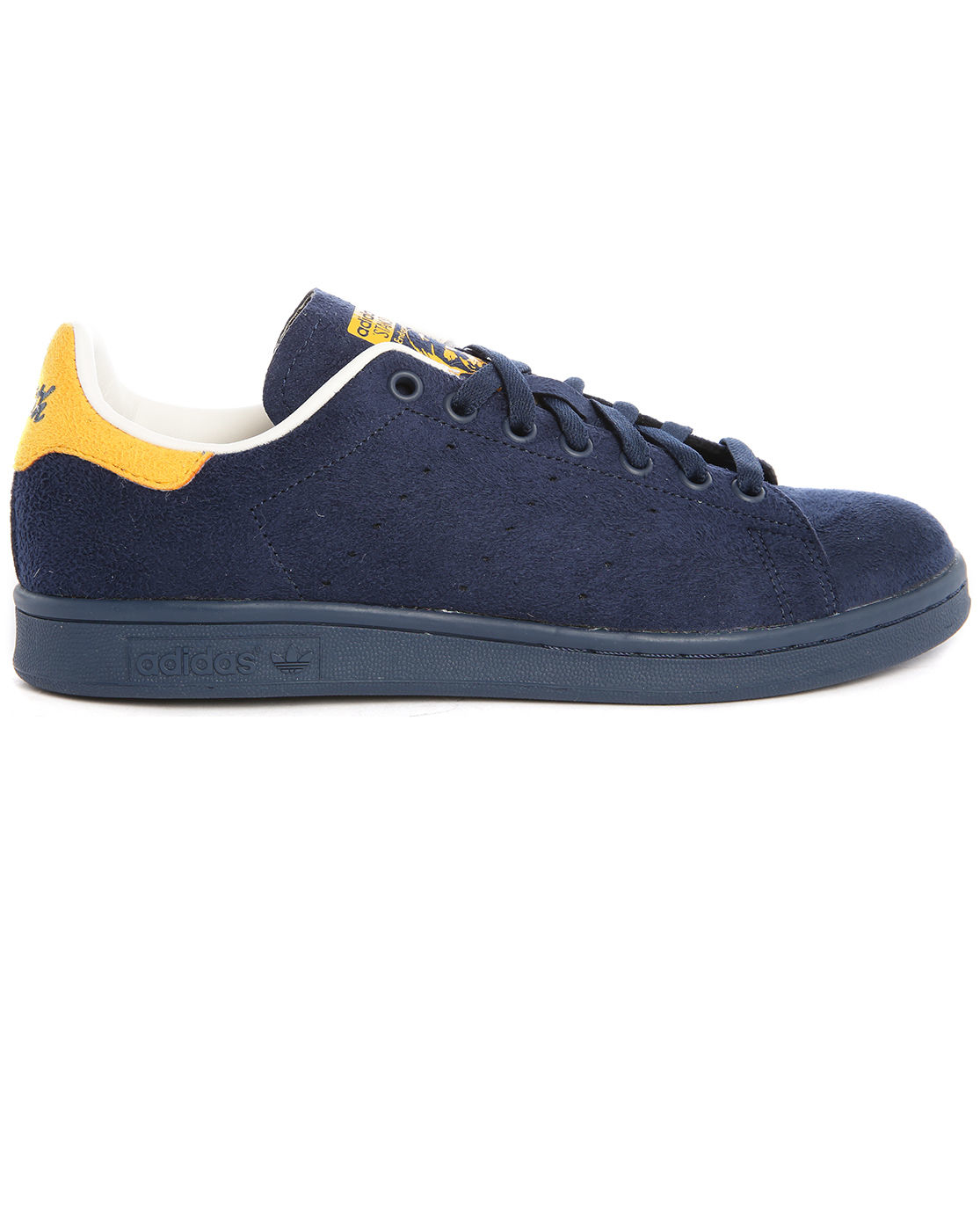 adidas originals stan smith navy suede sneakers in blue. Black Bedroom Furniture Sets. Home Design Ideas