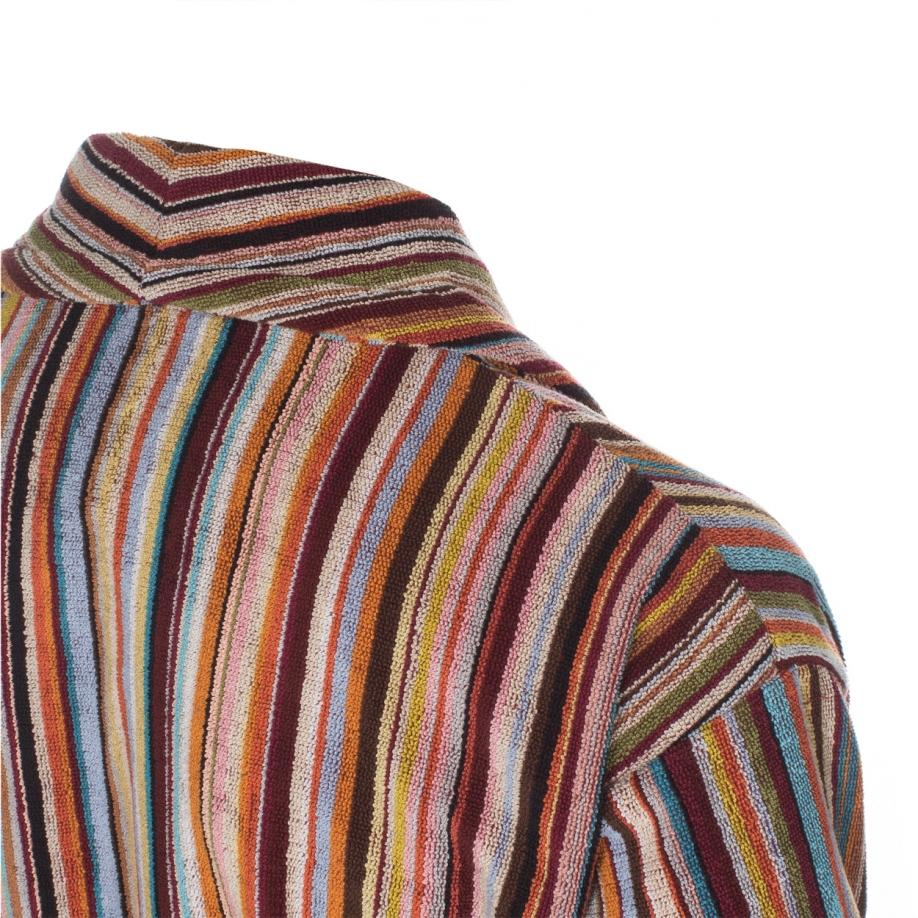 Paul Smith Men\'s Signature Striped Towelling Dressing Gown for Men ...