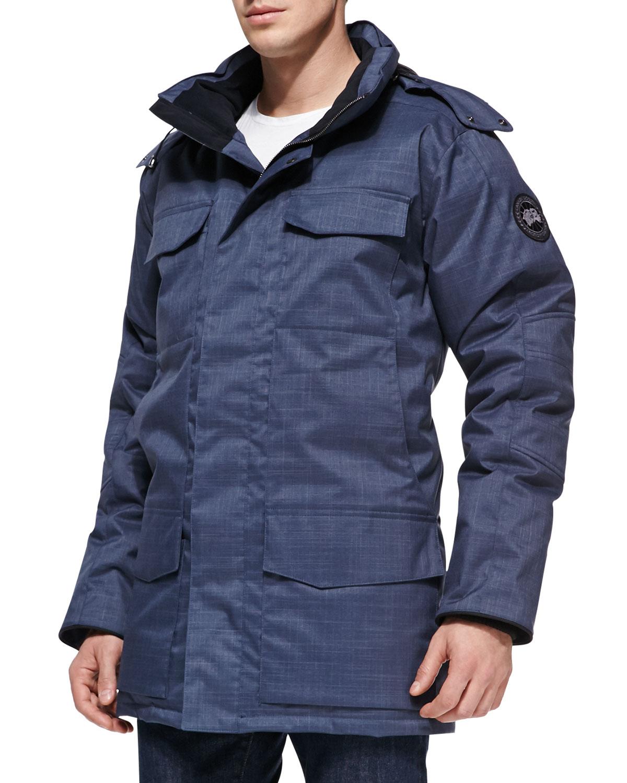 Canada Goose Branta Windermere Utility Jacket Blue In Blue