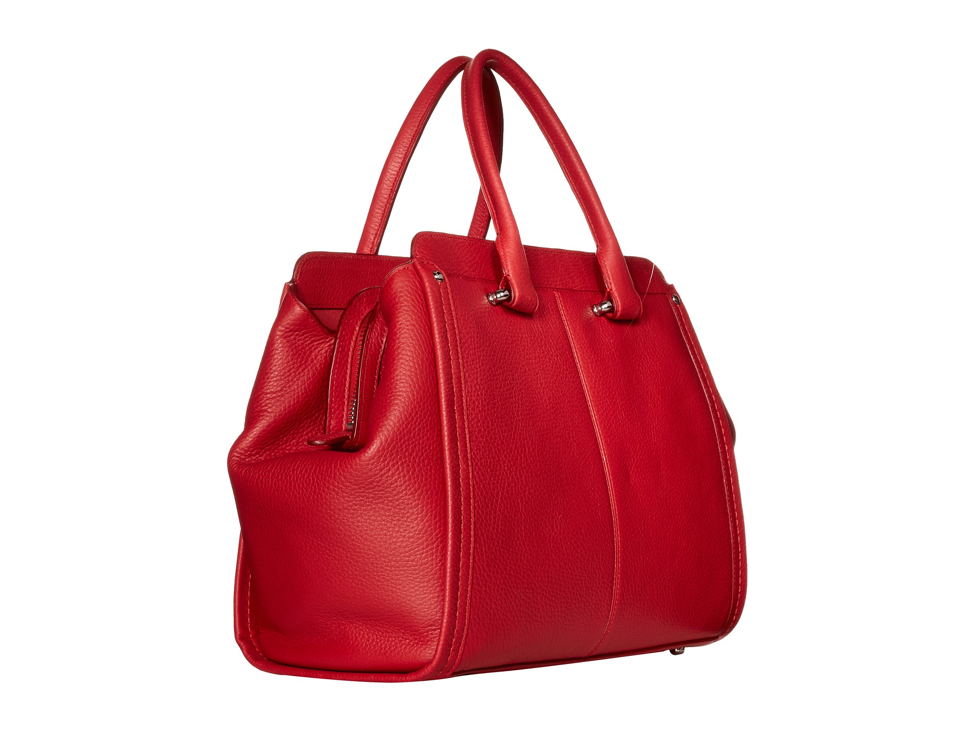 Coach Soft Grain Swagger Frame In Red Lyst