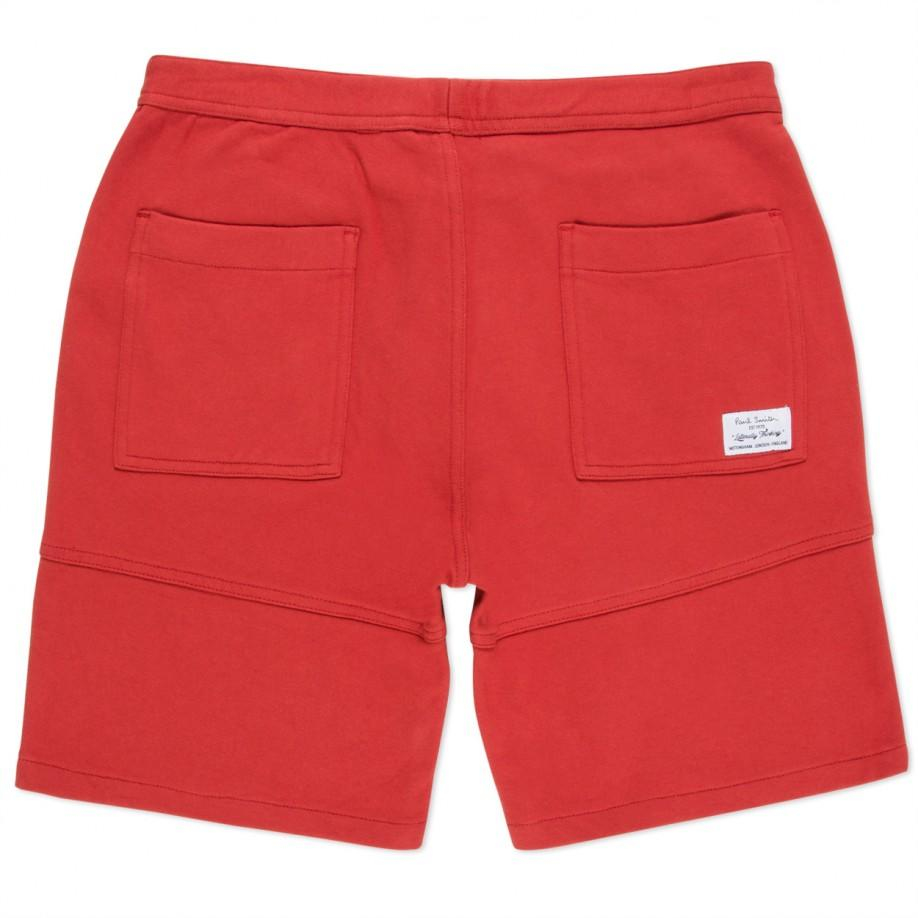 Paul smith Men's Red Two-piece Loopback-cotton Sweat Shorts in Red ...