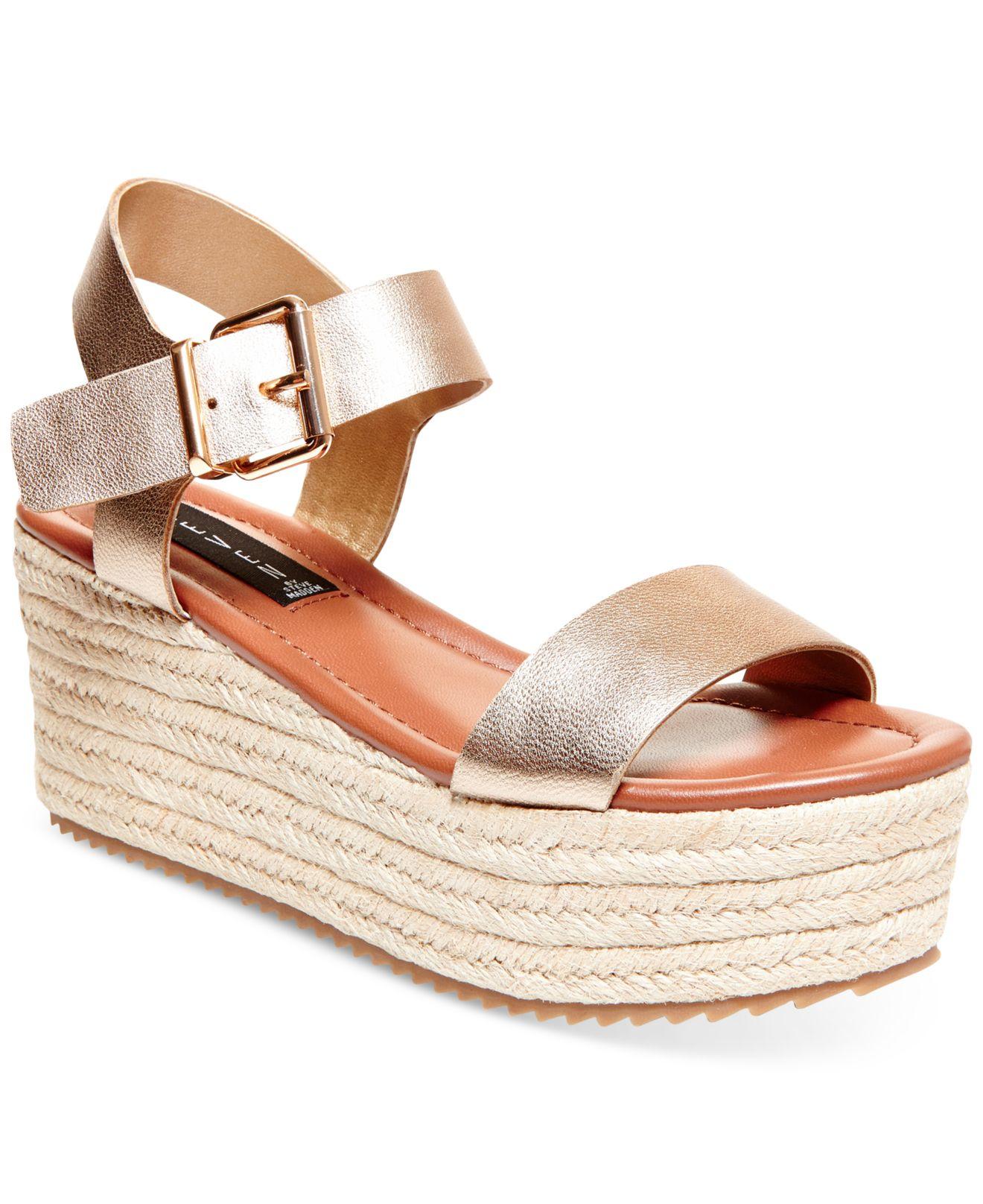 Steven By Steve Madden Women S Sabbie Platform Sandals In