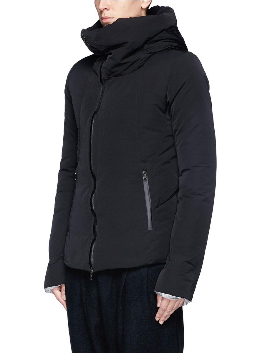 fdd1fdf5a The Viridi-anne Black High Collar Down Jacket for men