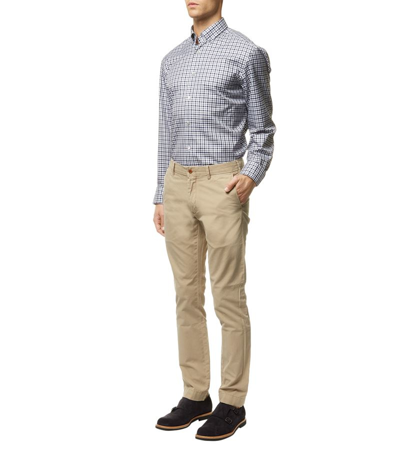 polo ralph lauren slim fit newport pants in beige for men. Black Bedroom Furniture Sets. Home Design Ideas