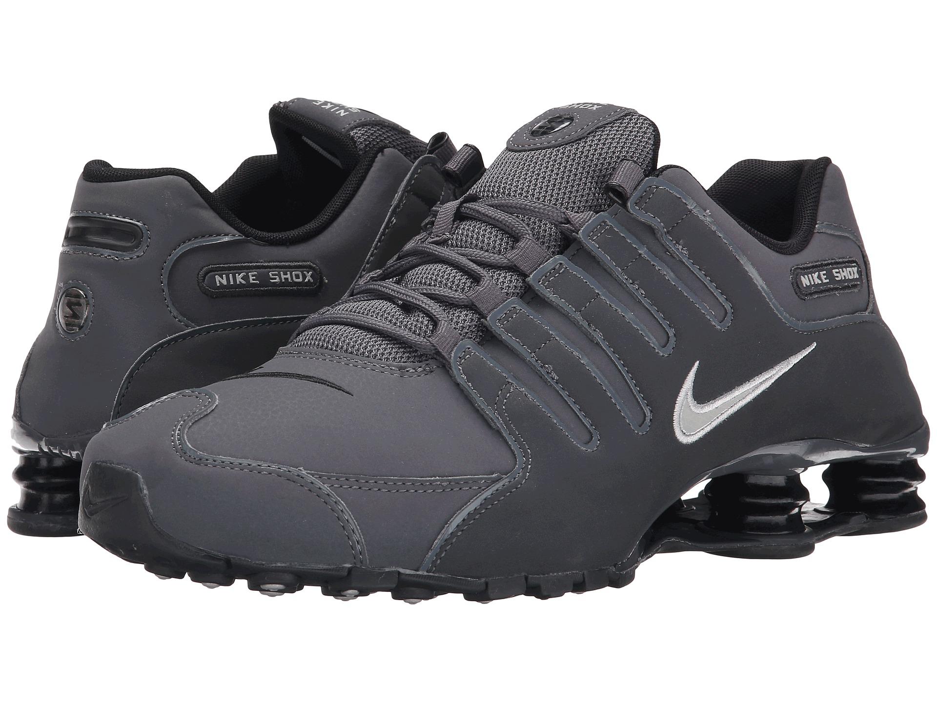Nike Shox Nz in Gray for Men