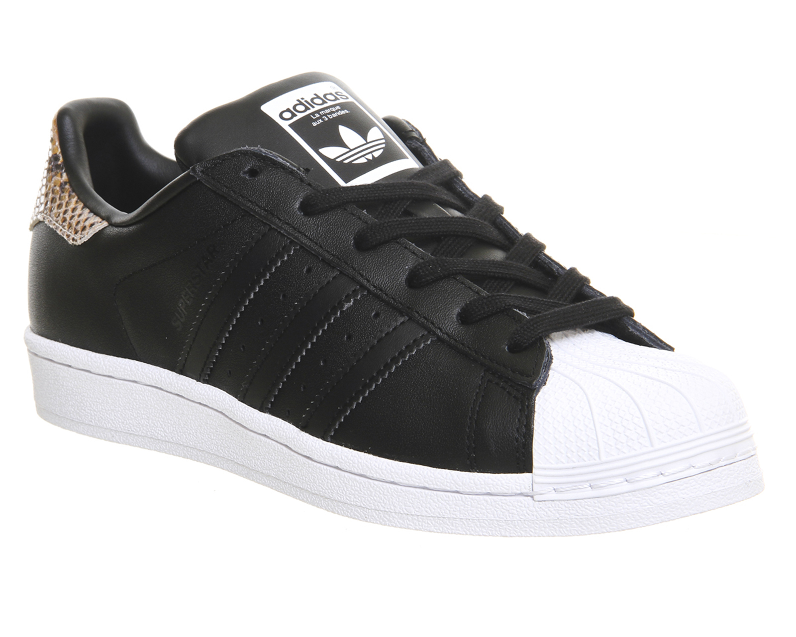 adidas superstar 2 m63439 shell zwart leopard