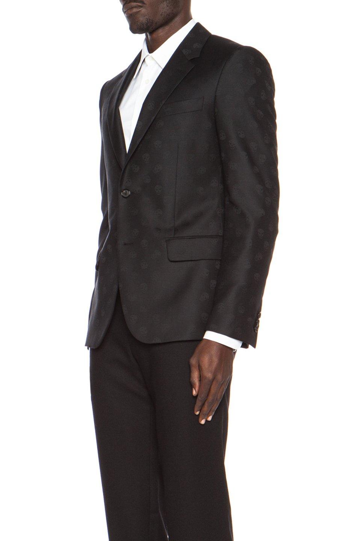 ROBERT GRAHAM MEN/'S LUCIAN TWEED WOOL TAILORED FIT PANTS BLACK $298 NWT