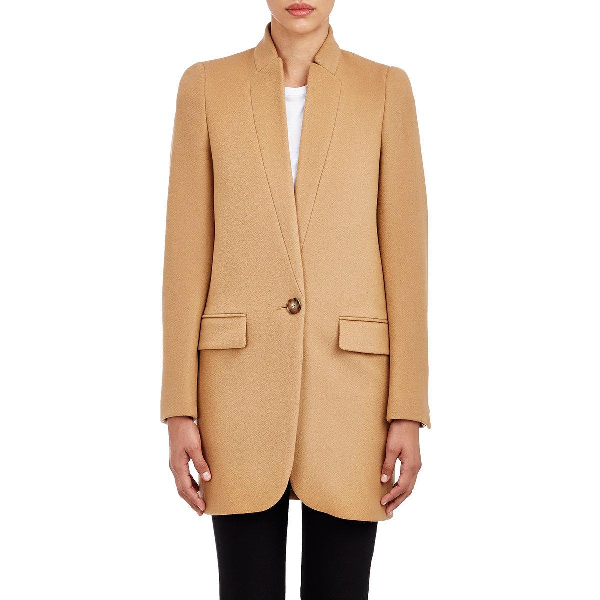 Lyst Stella Mccartney Bryce Coat In Brown