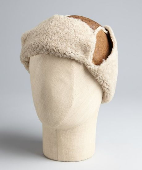 Trapper Hat j Crew Shearling Trapper Hat in