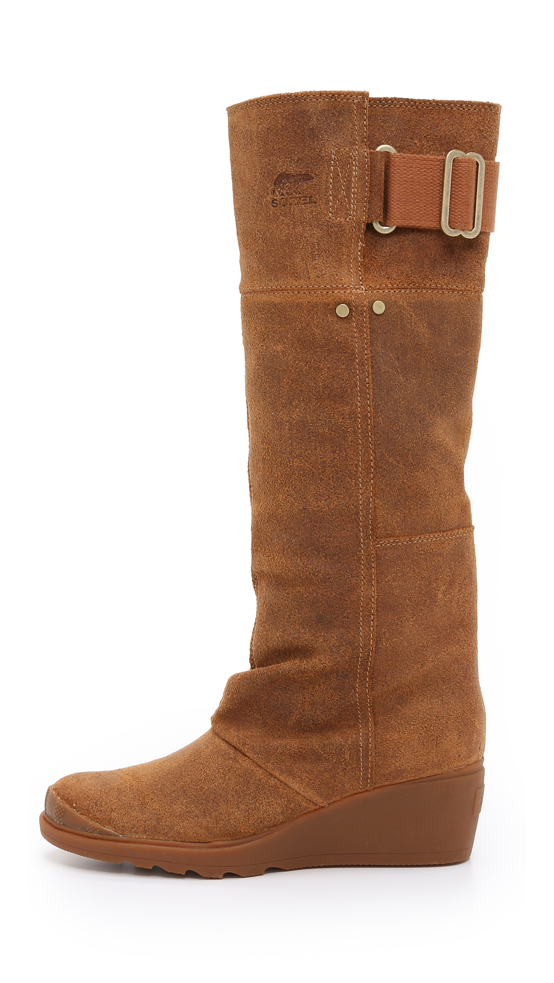Sorel Toronto Tall Boots In Brown Lyst