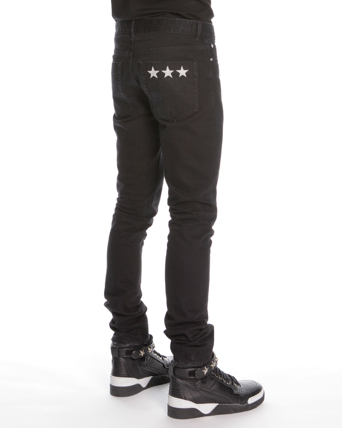 Faded Black Jeans Mens