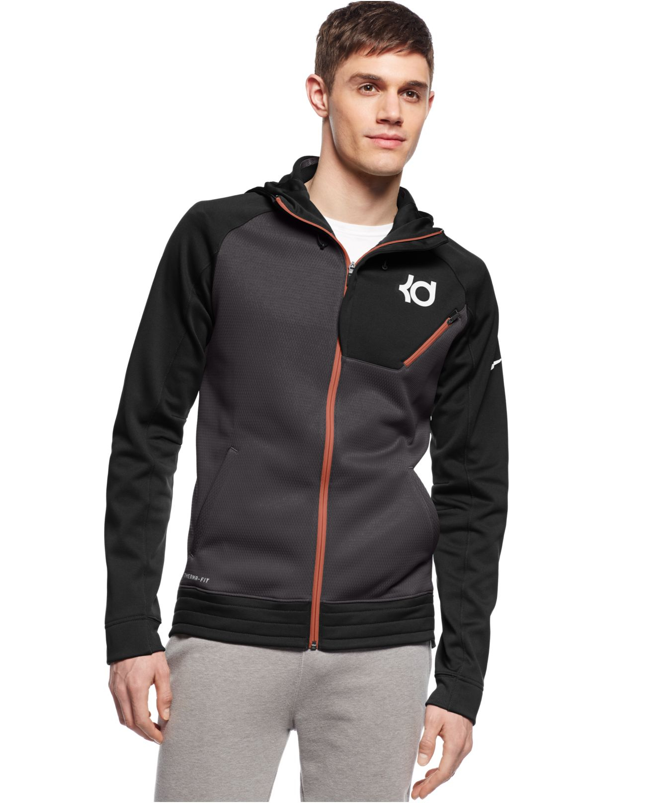 50ef7e5f0f Nike Black Kd Surge Elite Performance Full-zip Hoodie for men