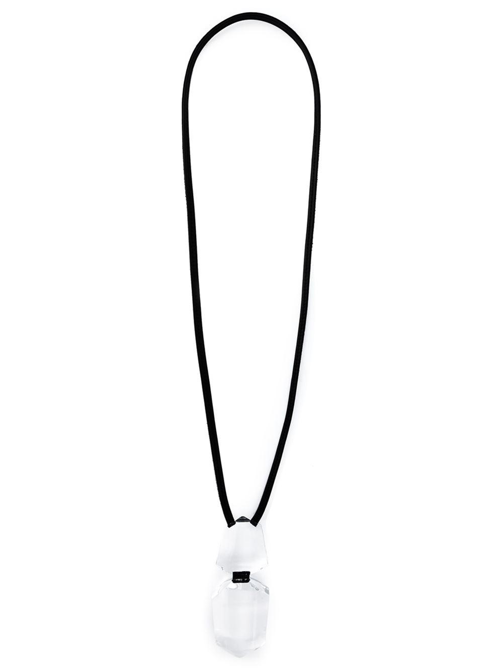Monies oversized pendant necklace - Black owFz0QzCe4