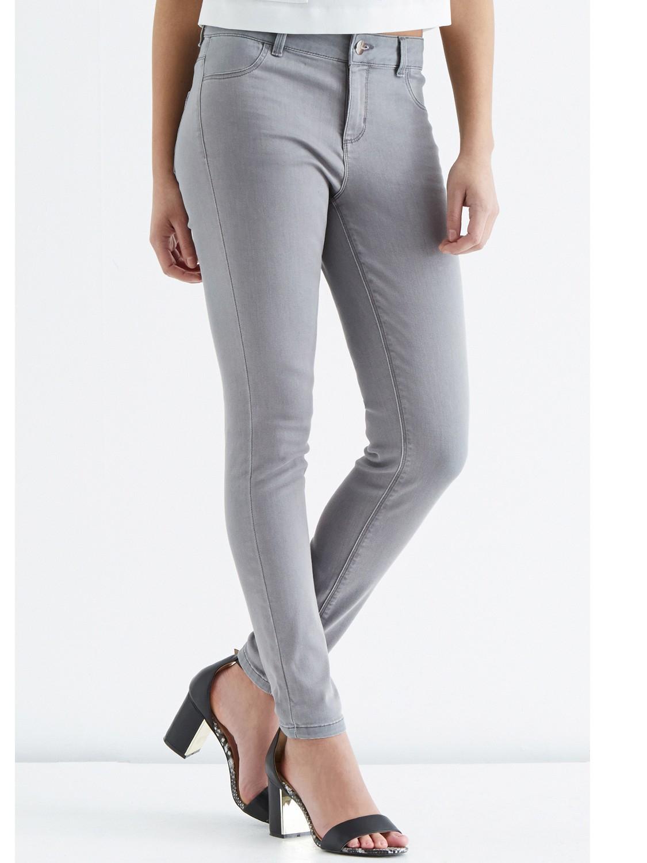Oasis Jade Crop Jeans in Grey (Grey)