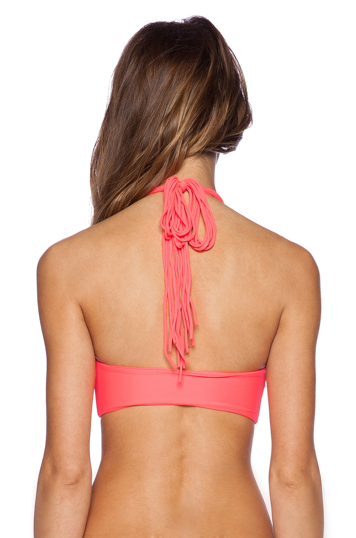 Criss cross bikini tops